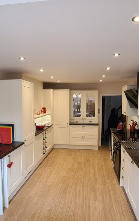 New kitchen + Rear extension - Brocton, Stafford