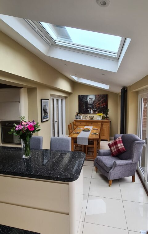 Rear extension + New kitchen diner - Baswich, Stafford